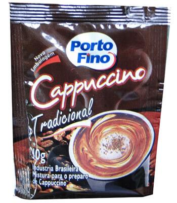 Sachês de Cappuccino Tradicional PORTO FINO 10G