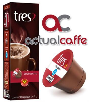 C�psulas Chocolatto - Caixa com 10 C�psulas Tr�s